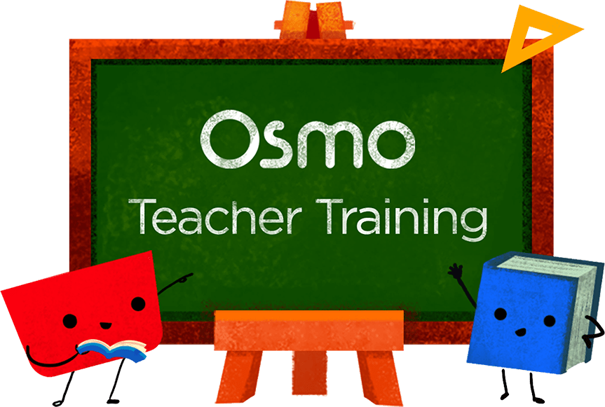 Chalkboard Illustration with Teacher Training drawn in chalk.